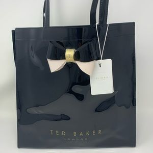 Ted Baker Black Bow Large Icon Tote Bag